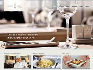 White Rock best restaurant WordPress theme