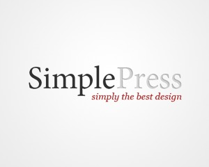 WordPress template SimplePress