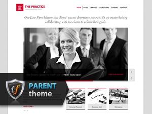 WordPress template The Practice Parent
