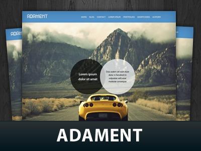 WordPress theme Adament