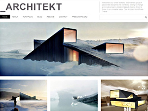 WordPress theme Architekt Theme Responsive