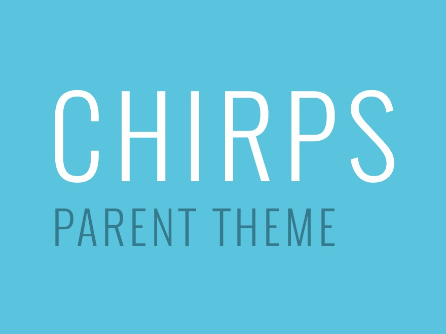 WordPress theme Chirps Theme