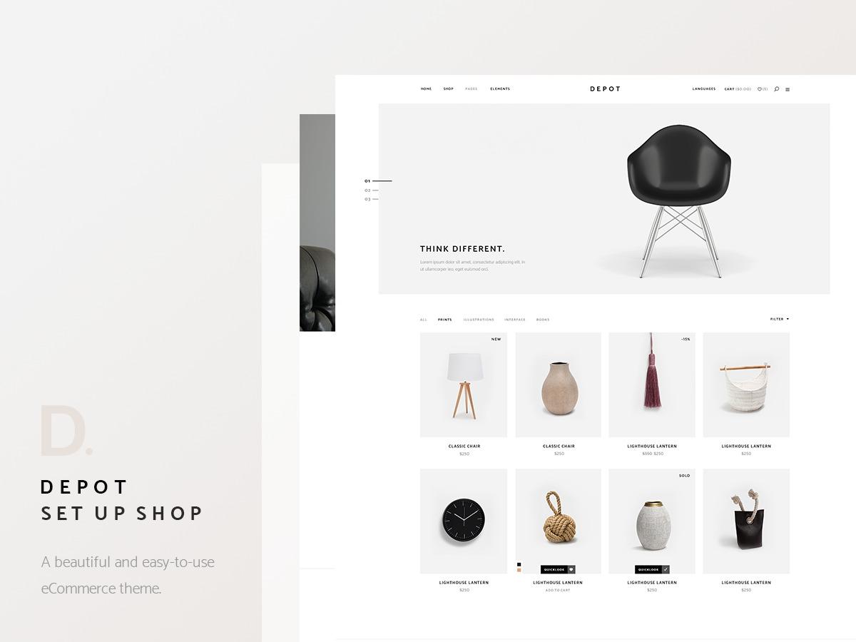 WordPress theme Depot