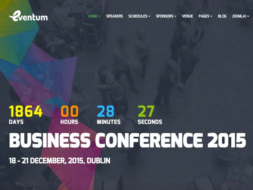 WordPress theme eventum