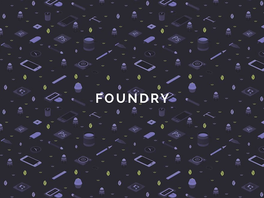 WordPress theme Foundry