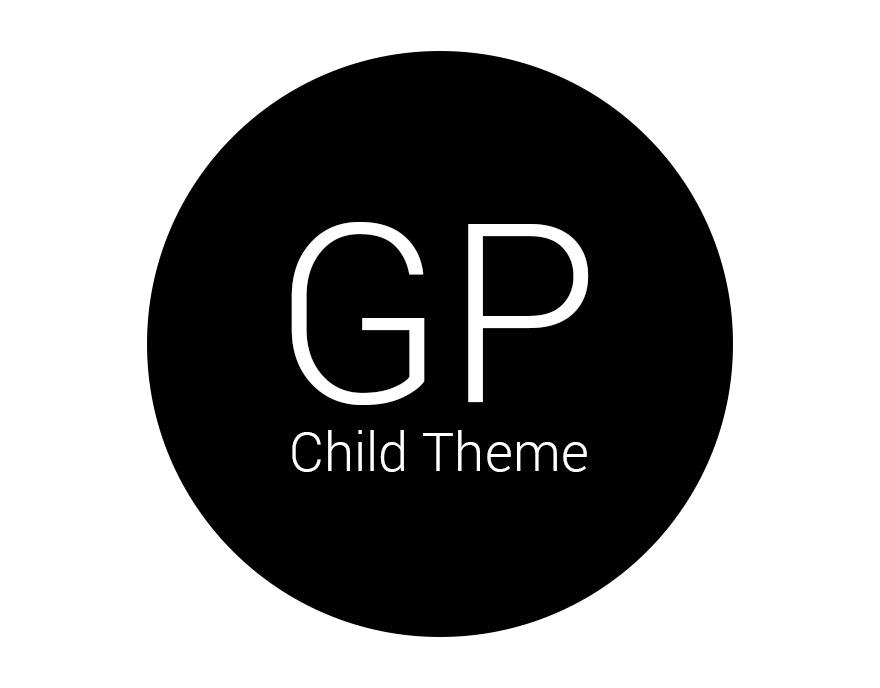 WordPress theme GeneratePress Child