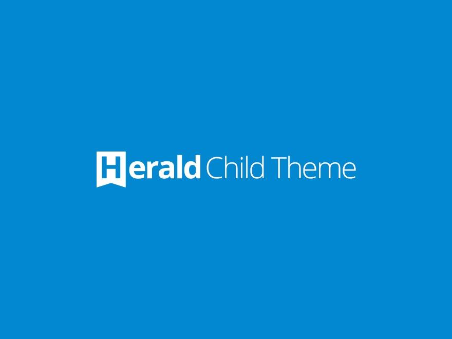 WordPress theme Herald Child