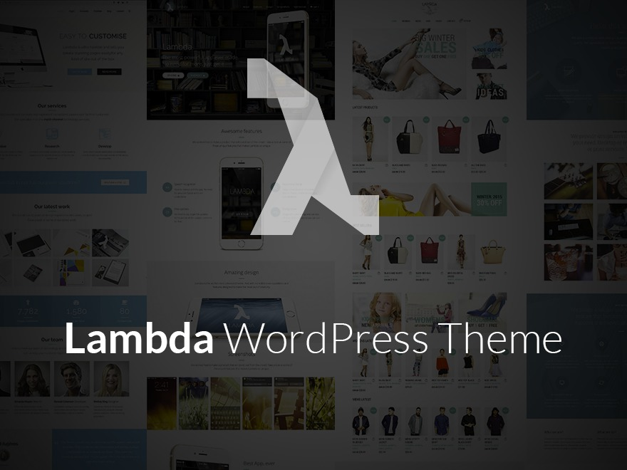 WordPress theme Lambda