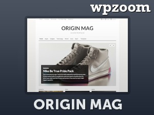 WordPress theme OriginMag
