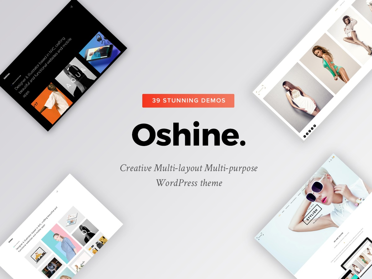 WordPress theme Oshin