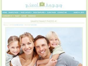 WordPress theme Pixel Happy Child Theme