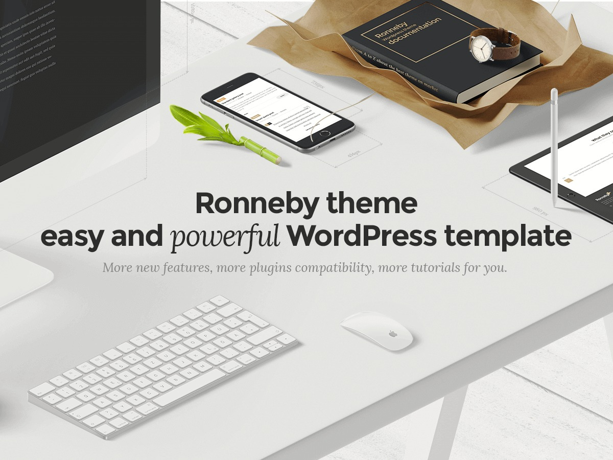 WordPress theme Ronneby