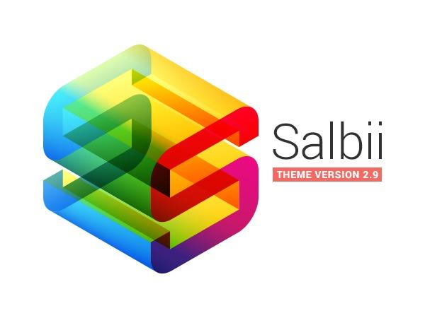 WordPress theme Salbii