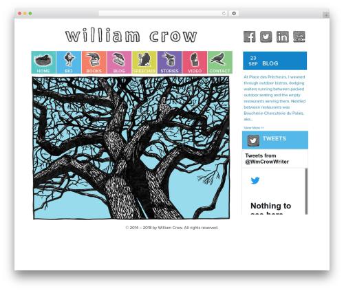 Free WordPress Spider FAQ plugin - williamcrowwriter.com