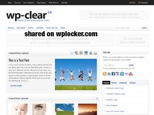 WP-Clear theme WordPress
