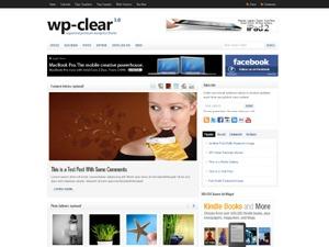 WP-Clear WordPress theme