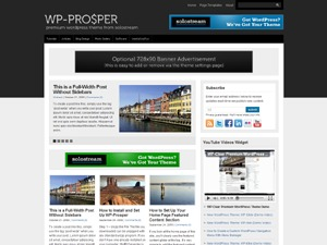 WP-Prosper top WordPress theme