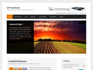 WP-Radiance WordPress theme
