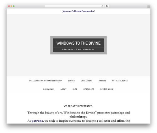 Free WordPress Login Widget With Shortcode plugin - windowstothedivine.org