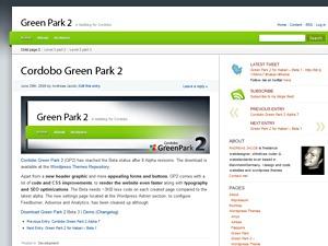 WP template Cordobo Green Park 2