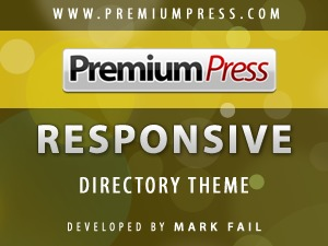 WP template Responsive Directory Theme