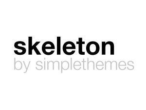 WP theme Skeleton