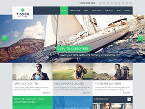 WP theme Tisson