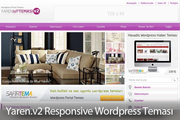 Yaren Wordpress Teması v2 WordPress theme