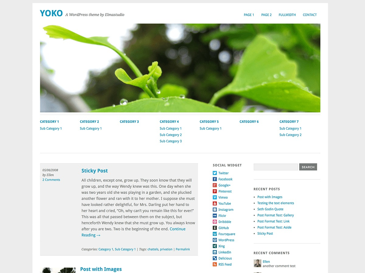 Yoko best WordPress gallery