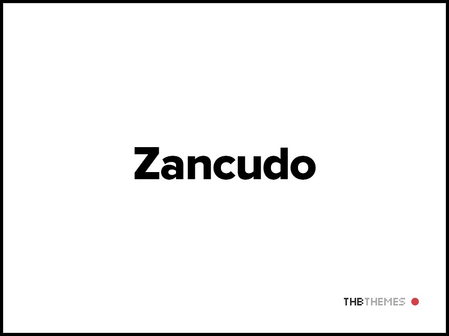 Zancudo WordPress template