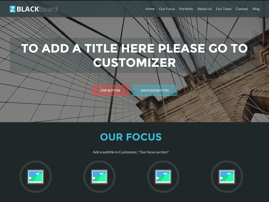 ZBlackbeard WordPress theme free download