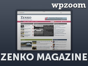 Zenko Magazine WordPress news template
