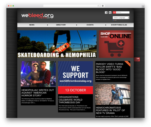 Accord Child WP template - webleed.org