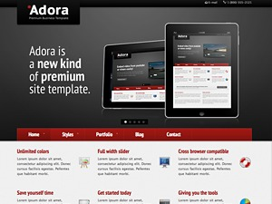 Adora company WordPress theme