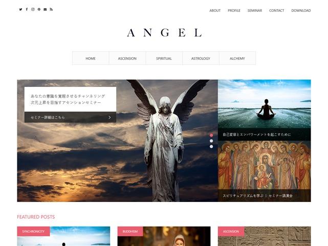 ANGEL theme WordPress