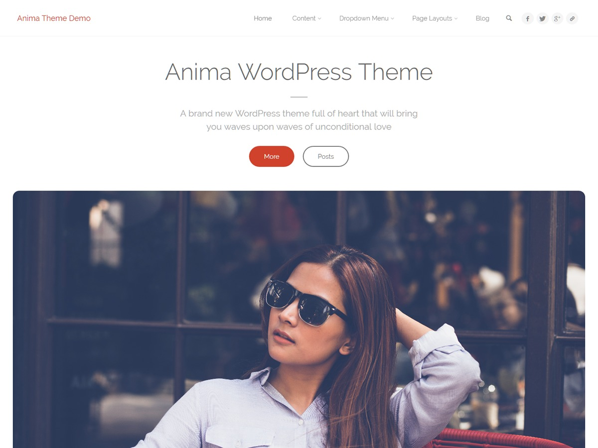 Anima WordPress ecommerce template