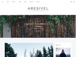 Aresivel - A Responsive Wordpress Blog Theme WordPress blog theme
