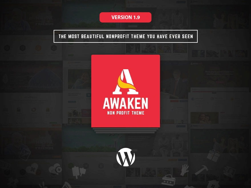 Awaken WordPress news theme