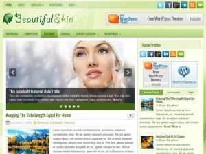 BeautifulSkin gym WordPress theme