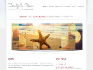 Beauty Clean Free best WordPress magazine theme