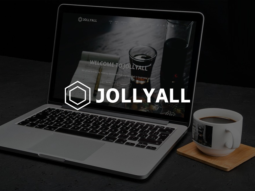 Best WordPress template Jollyall