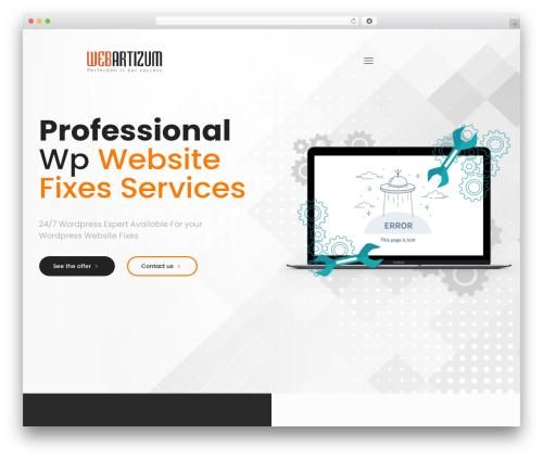 Betheme WordPress template - webartizum.com