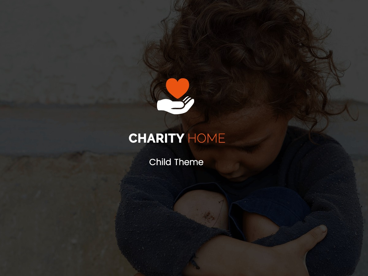 Charity Home Child WordPress theme