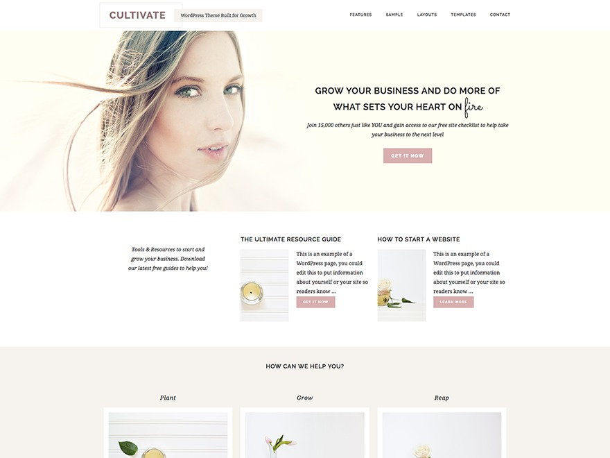 Cultivate Theme WordPress store theme