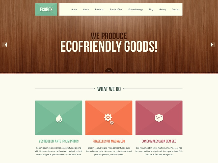 Ecobox best WordPress theme