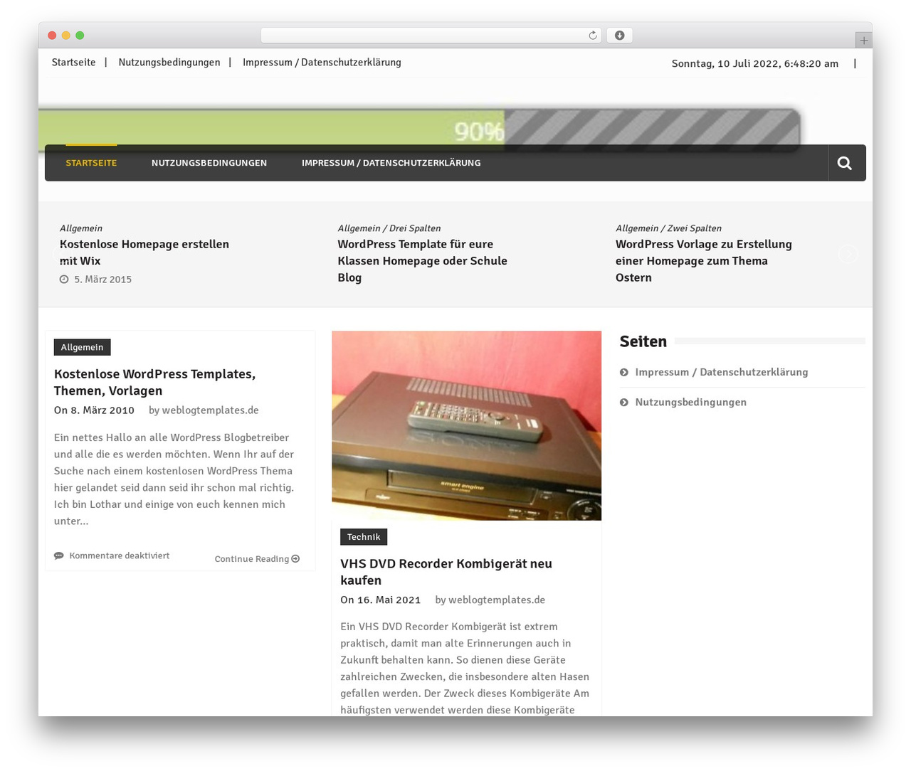 Editorialmag theme WordPress free by sparklewpthemes ...