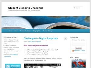 Edublogs Default WordPress blog theme