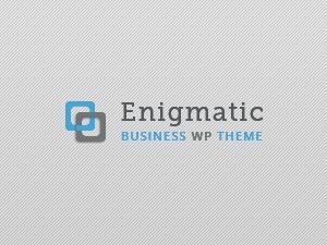 Enigmatic best WordPress theme
