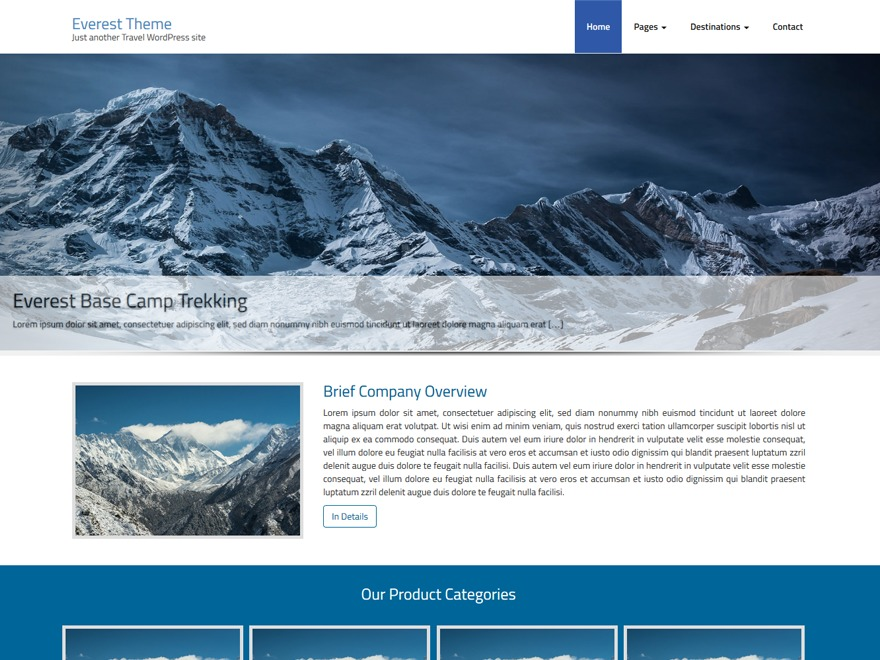 everest64 WordPress theme download
