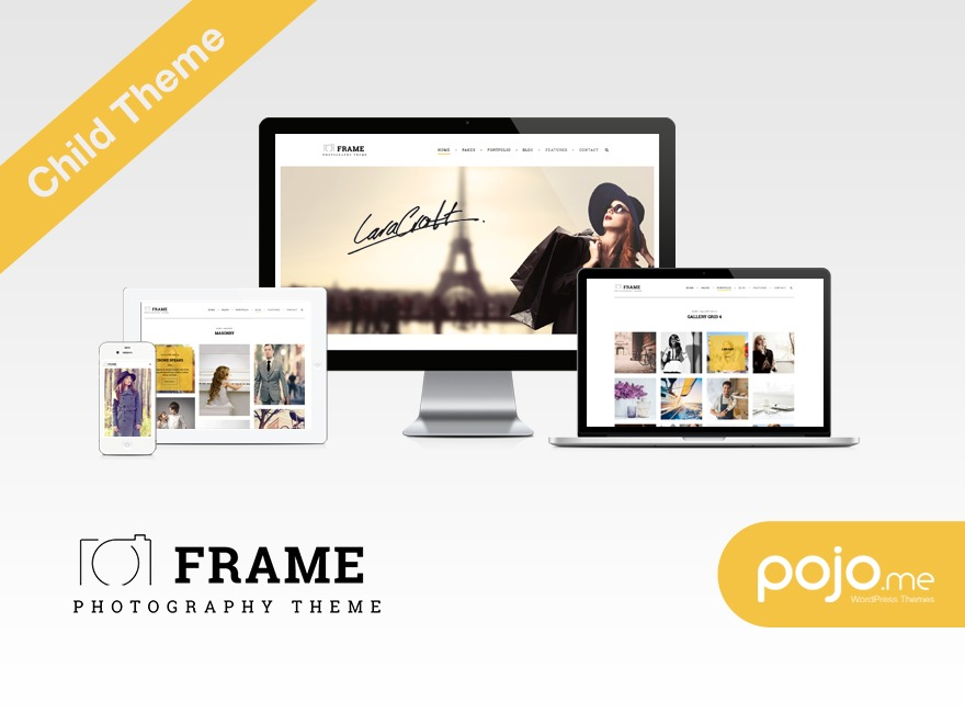 Frame Child WordPress theme